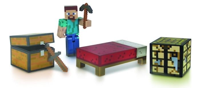 Figuras del juego Minecraft