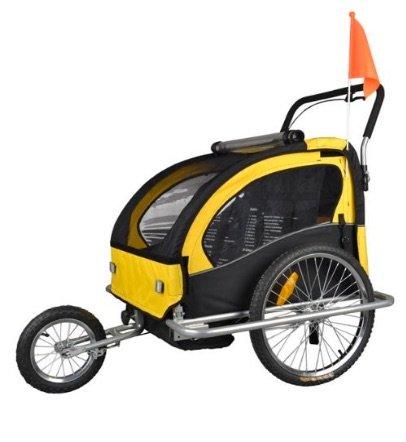 Remolque de bici para niños con kit de footing de Tiggo