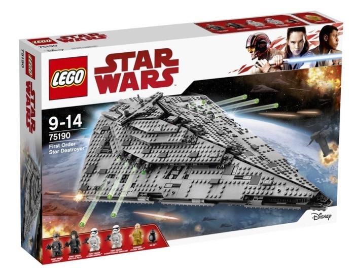 Oferta en juegues LEGO Star Wars durante el BlackFriday 2017