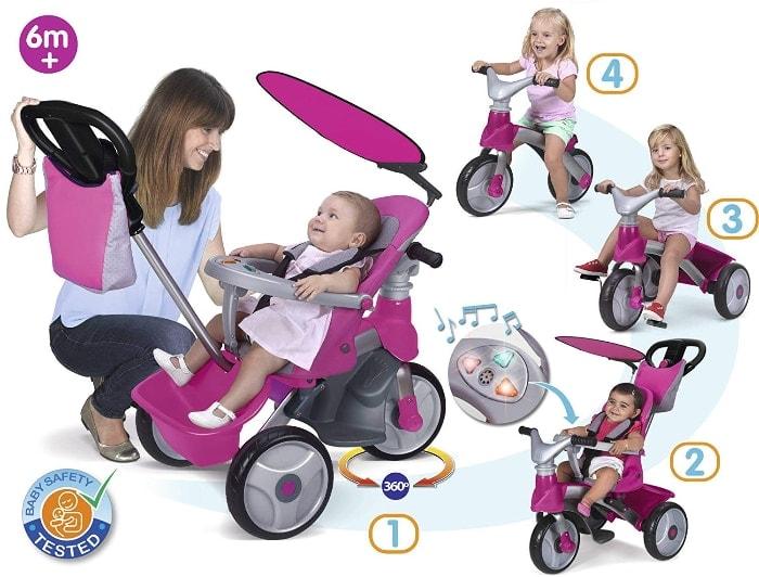 FEBER - Triciclo Baby Trike Easy Evolution