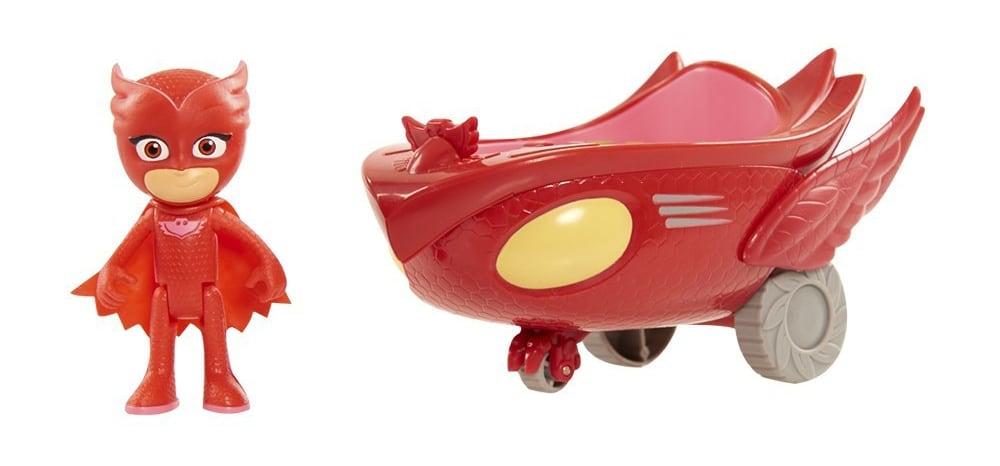 PJ Masks Vehículos Búho Delta y Buhíta (Bandai 24577)