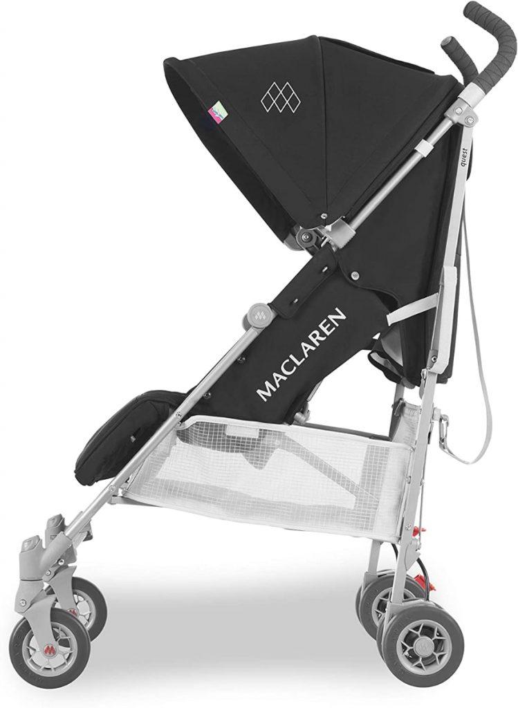 Maclaren Quest - Silla de paseo para recién nacidos hasta los 25kg, asiento multiposición, suspensión en las 4 ruedas