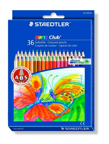 buenos lápices de colores como estos de Staedtler con 36 colores
