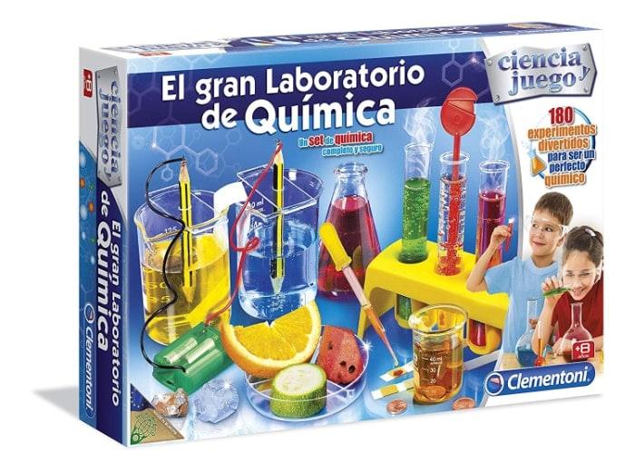 Ciencia y Juego - El gran laboratorio de química
