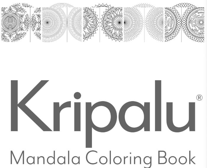 libro en PDF con mandalas para colorear