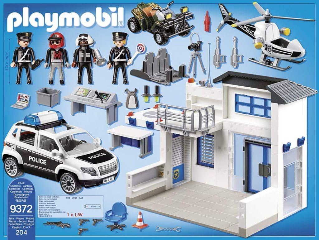 Playmobil Policía Mega Set única 9372