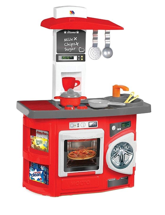 Moltó - Cocina de juguete horno y lavadora