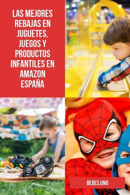 Las mejores rebajas de febrero en juguetes, juegos y productos infantiles (Amazon España)
