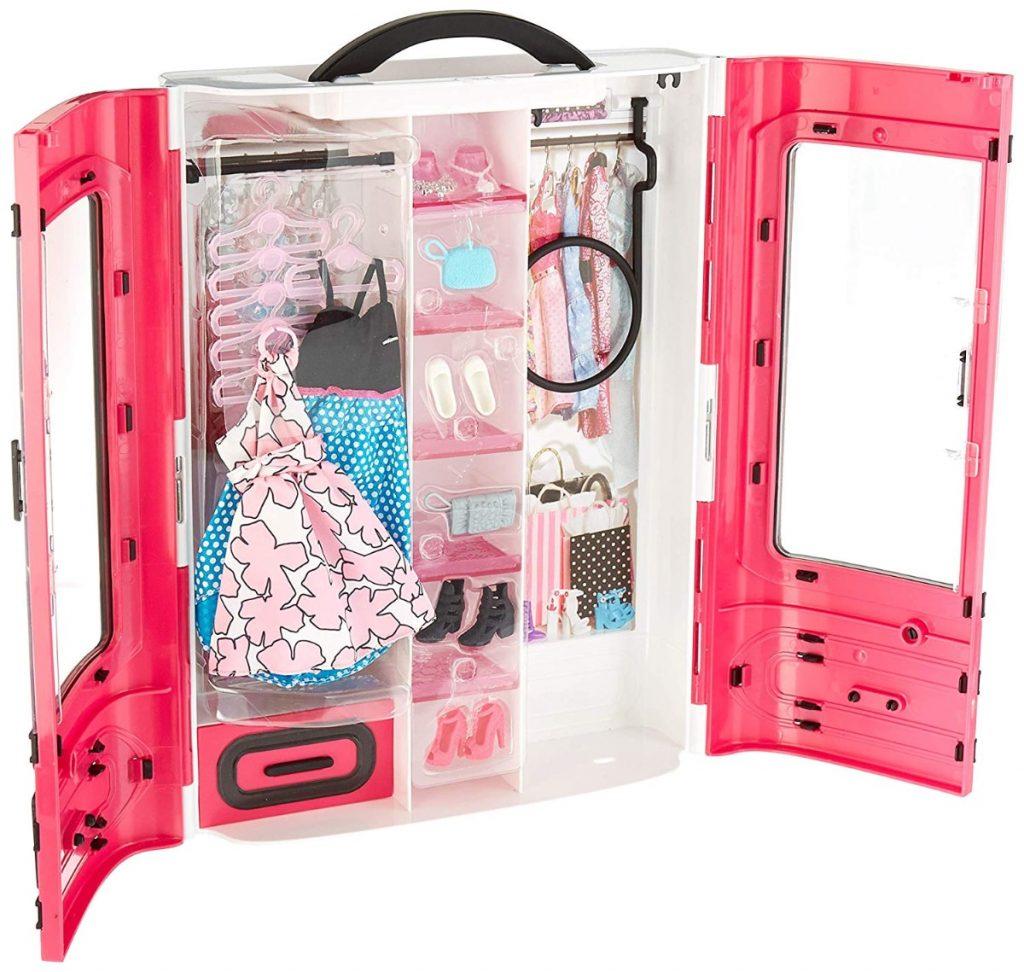 Barbie Fashionsita, Armario Fashion con ropa y accesorios