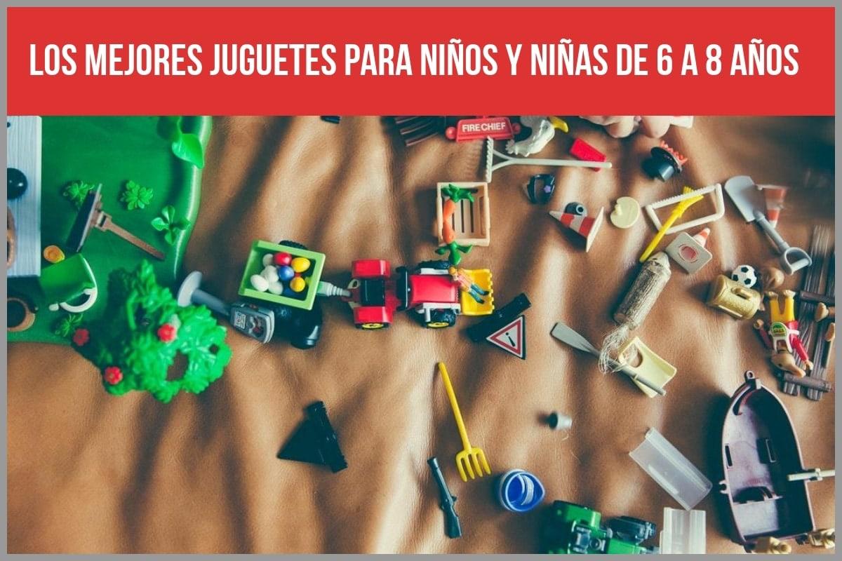 Los mejores juguetes para niños y niñas de 6 a 8 años