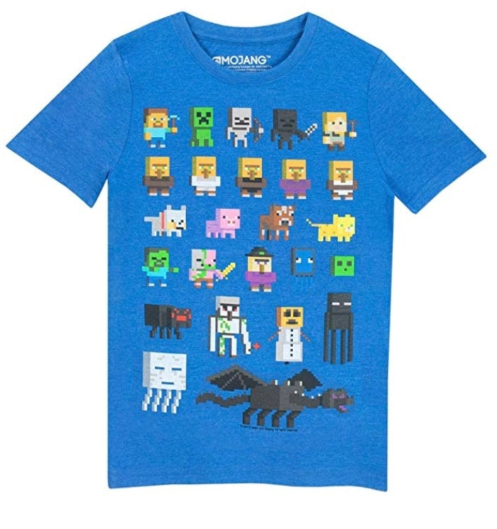 Minecraft: Camiseta para niño