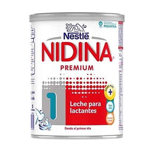 Nestlé NIDINA 1 - Leche para lactantes en polvo - Fórmula Para bebés - Desde el primer día - 800g