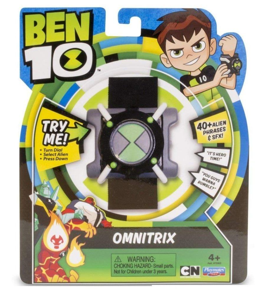 Reloj Ben 10 Basic Omnitrix con luz y Sonido