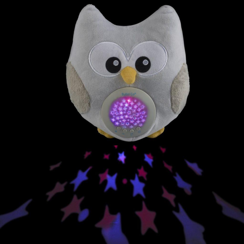 Bubzi Co - Búho con luz quitamiedos y sonidos