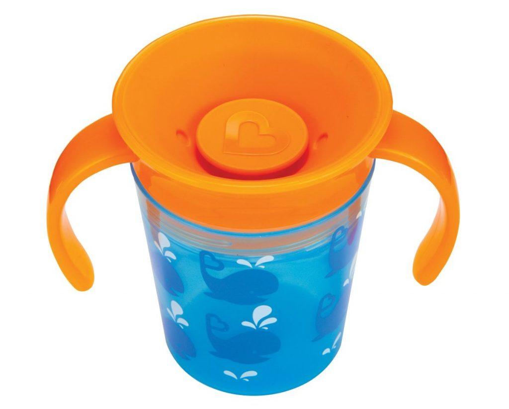 Munchkin Miracle 360° - Vaso para bebés antigoteo de 177ml