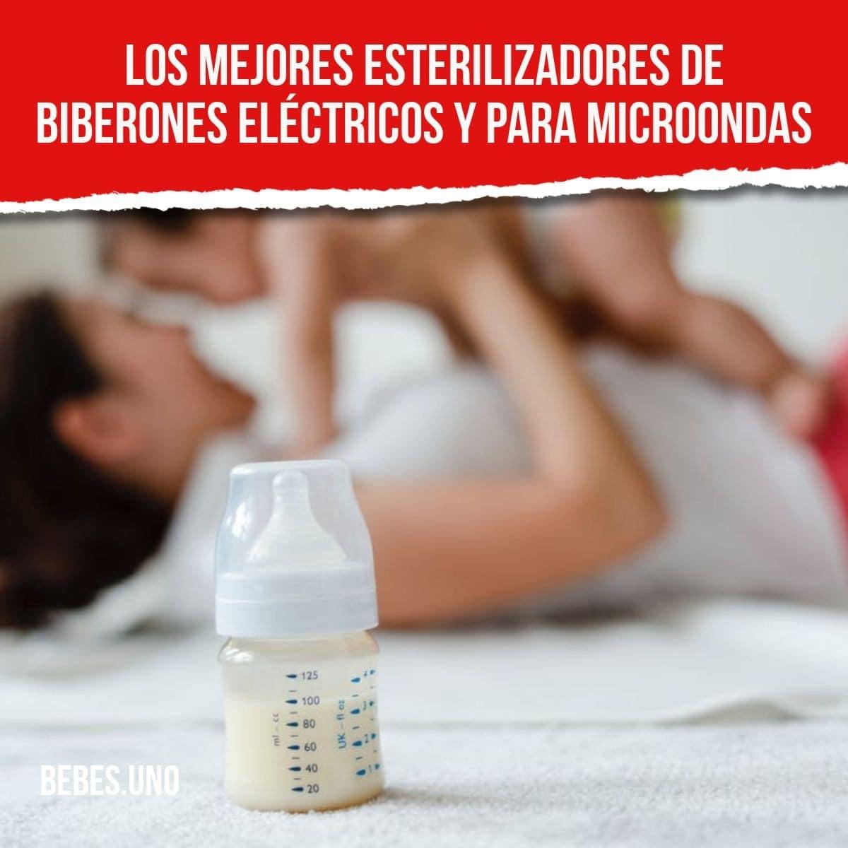 Los mejores esterilizadores de biberones eléctricos y para microondas