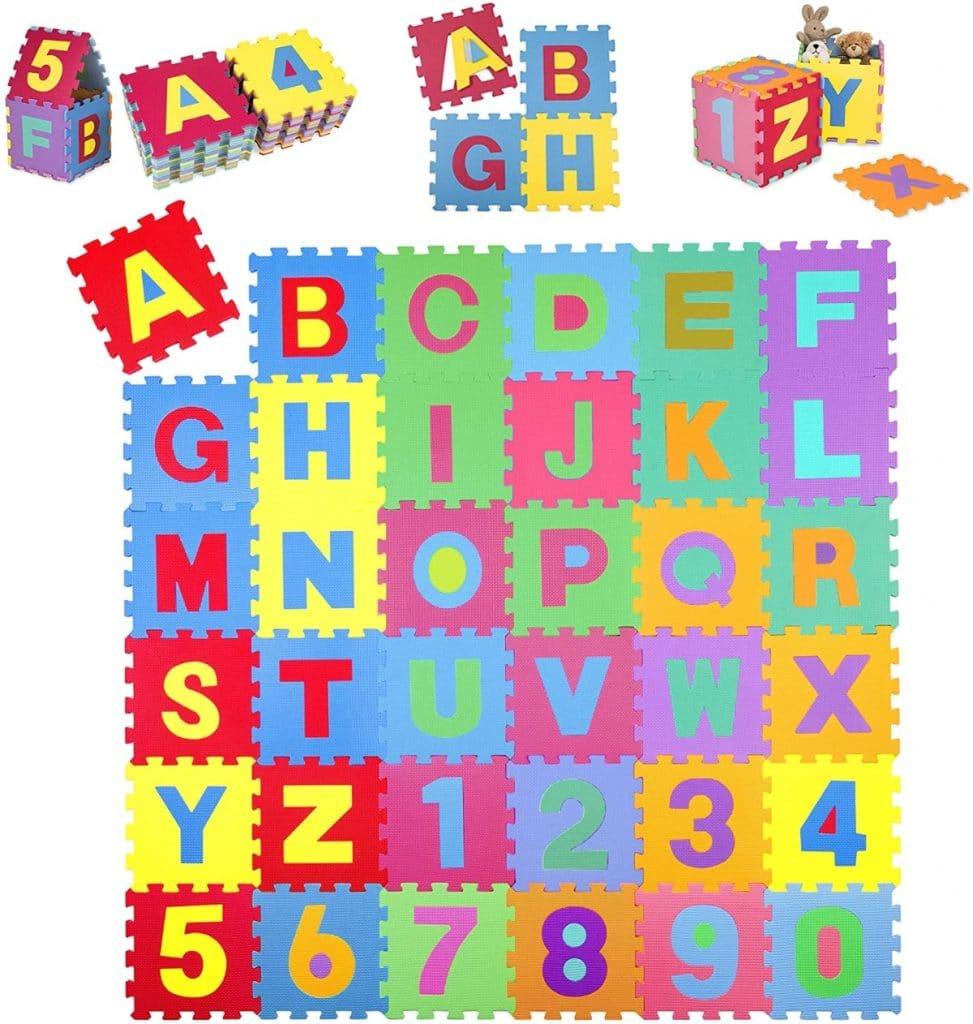 Alfombra puzzle para niños de Kiduku