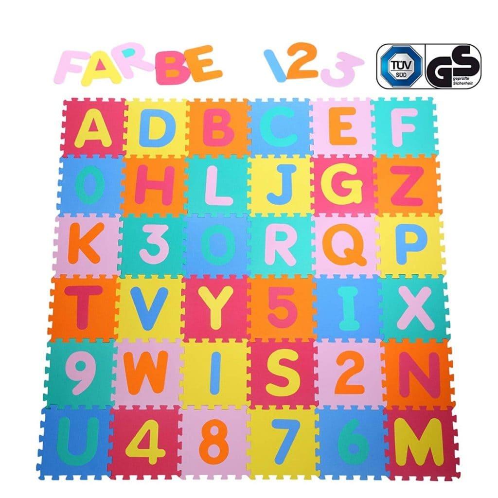 Las mejores alfombras puzzle para beb - Alfombras puzzle infantiles ...