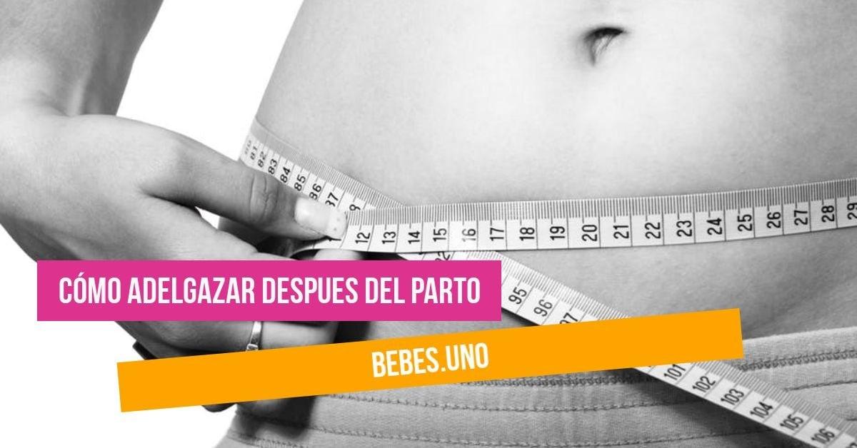 Cómo adelgazar despues del parto: dieta y ejercicio con una pulsera fitness