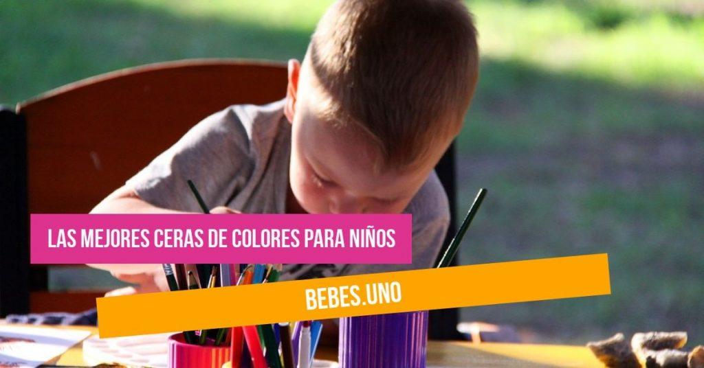 ¿Cuáles son las mejores ceras para colorear? Ceras de colores de para niños