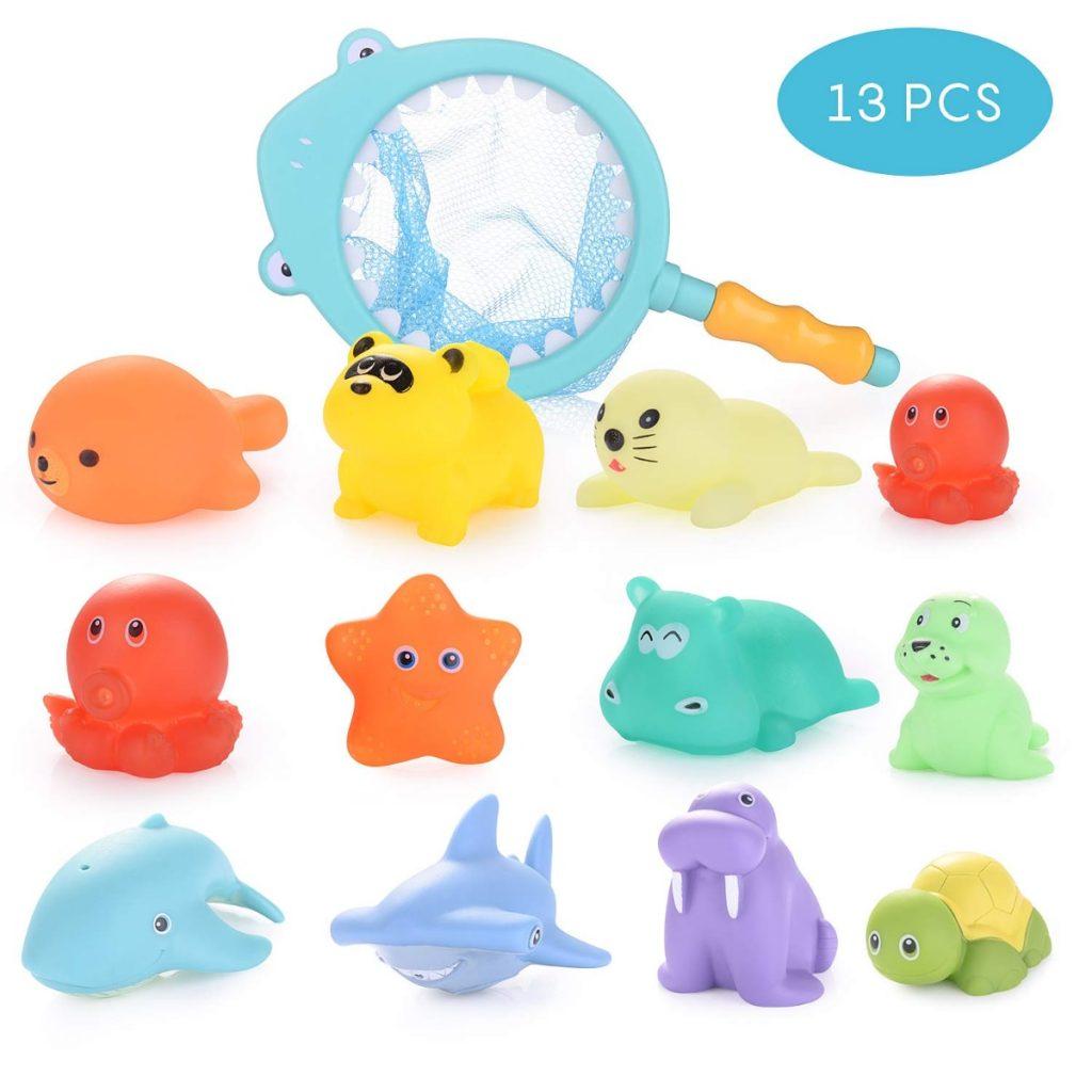 13 juguetes de baño de HellDoler