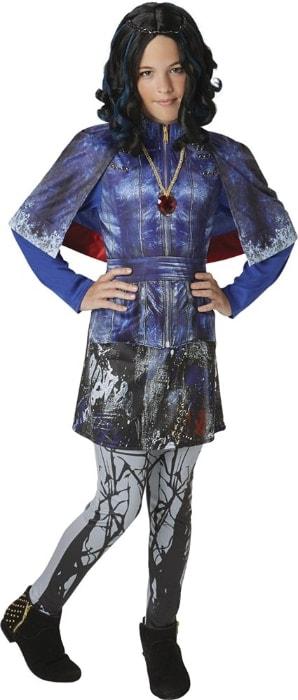 Los Descendientes - Disfraz de Evie Deluxe para niña