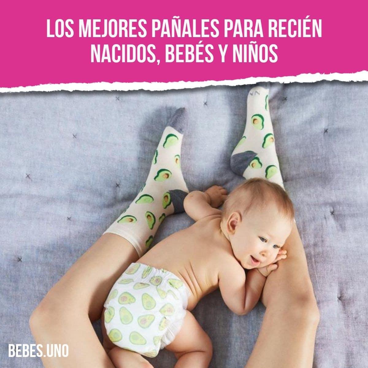 Los mejores pañales para recién nacidos, bebés y niños