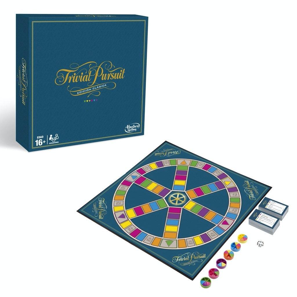 Hasbro Gaming Trivial Pursuit (Versión Española)