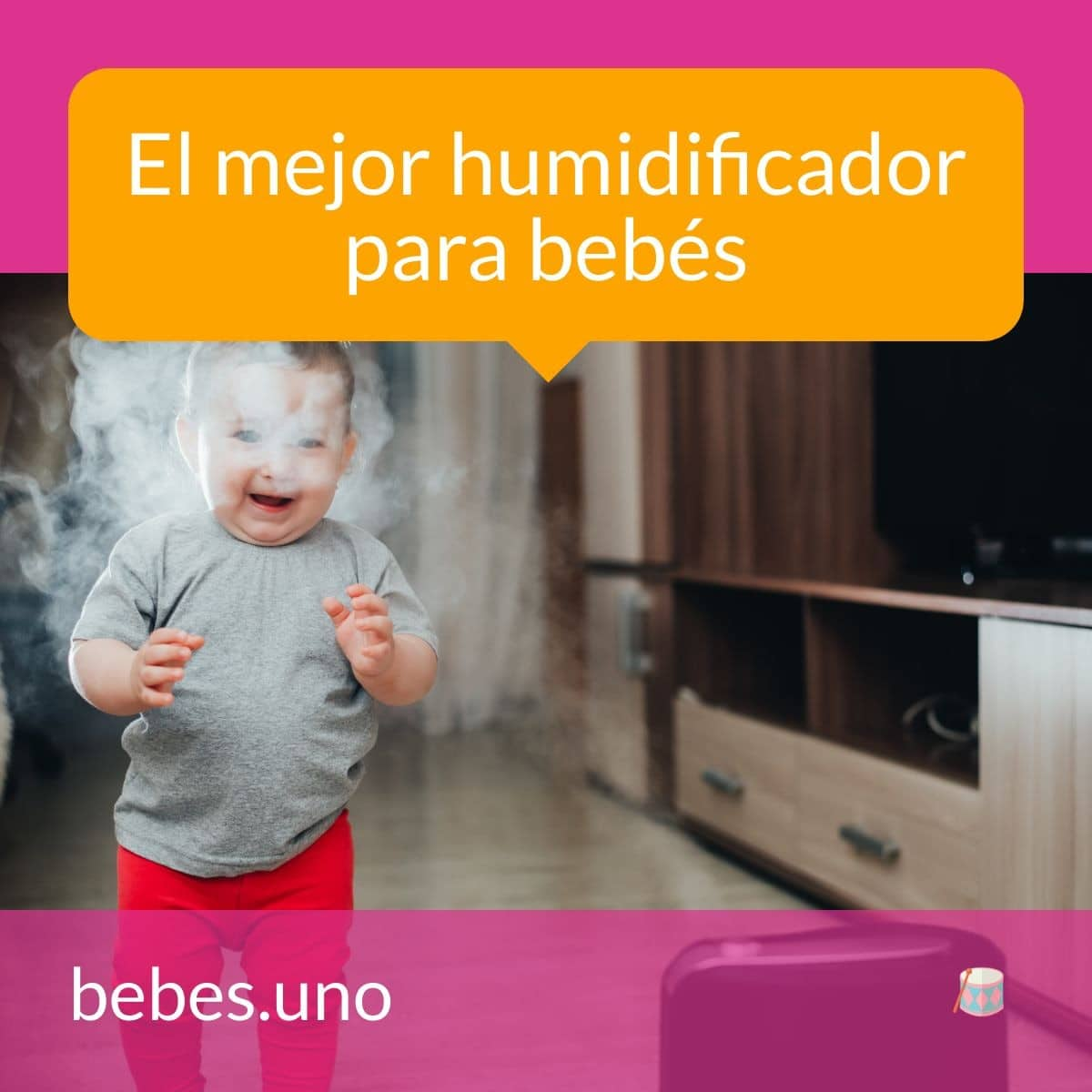 El mejor humidificador para bebés