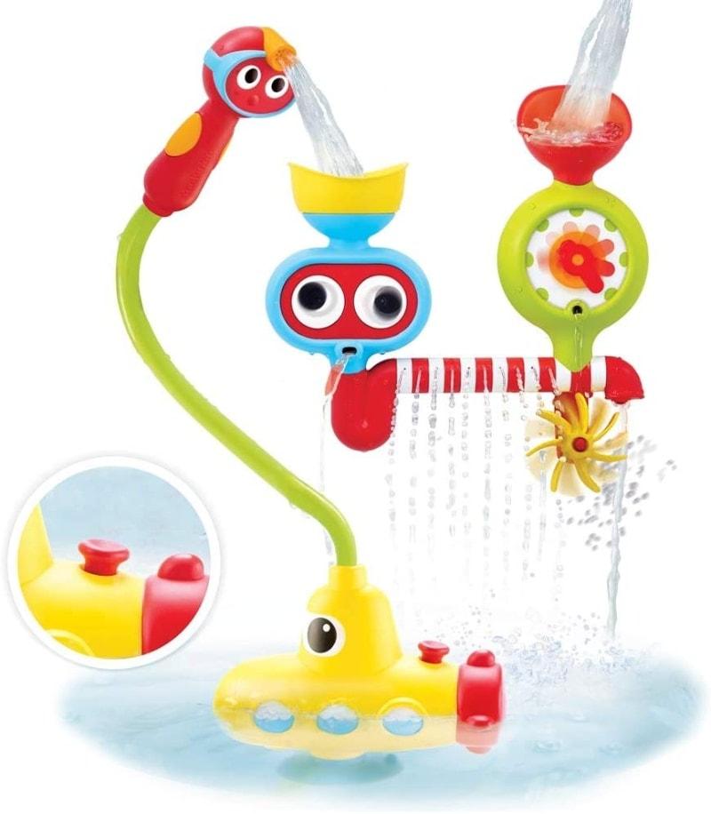 Juguete para el baño con forma de submarino de Yookidoo
