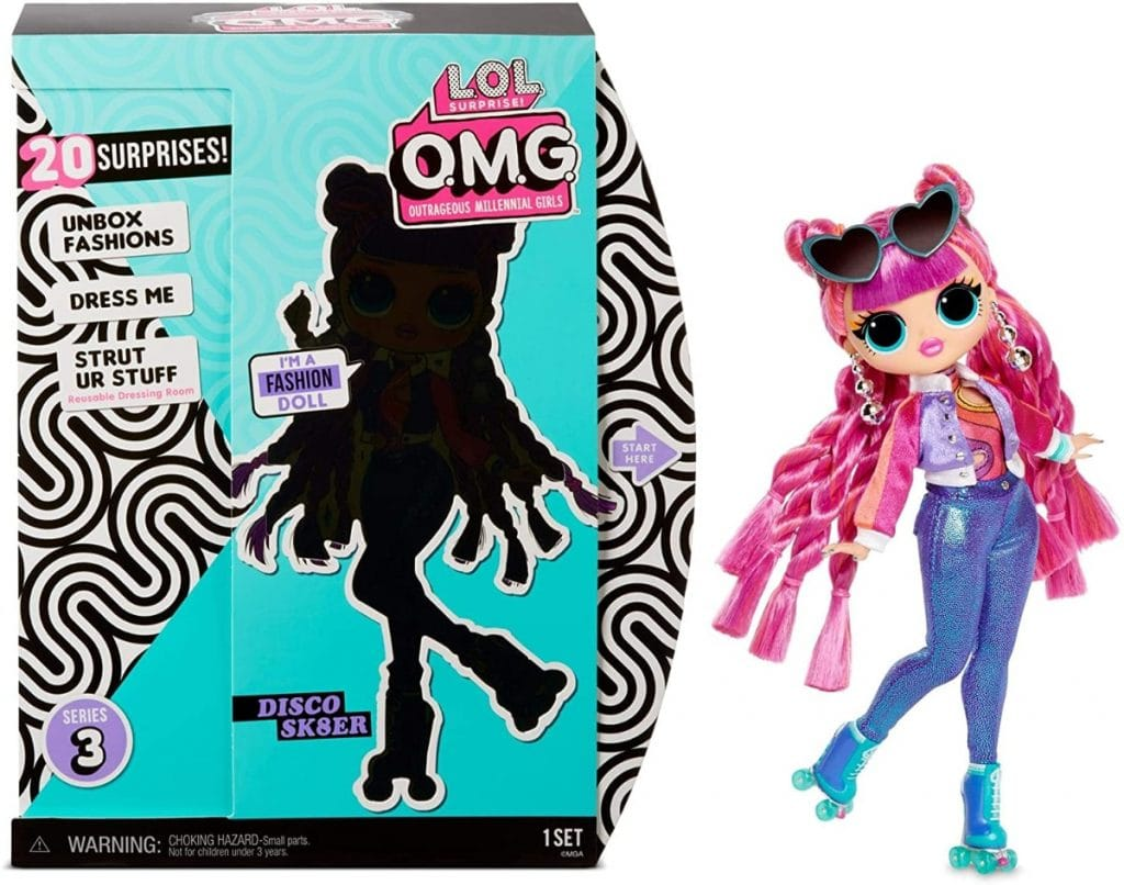 L.O.L. Surprise! Roller Chick - O.M.G. Serie 3