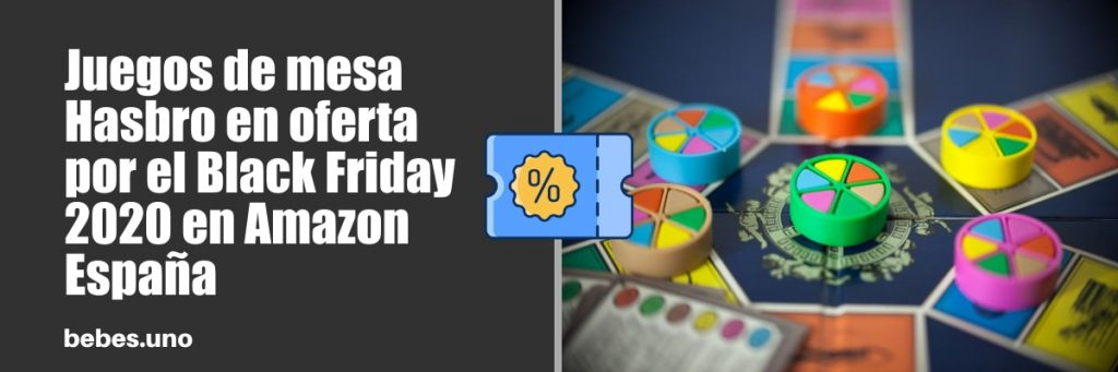 Juegos de mesa Hasbro en oferta por el Black Friday 2020 en Amazon España
