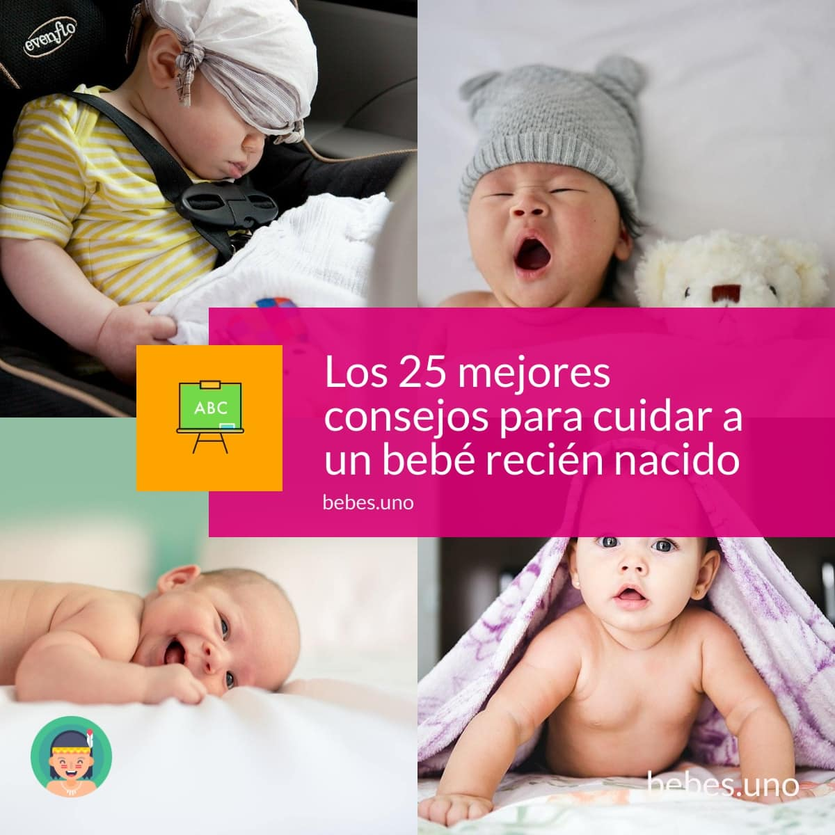 25 consejos imprescindibles para cuidar correctamente a un recién nacido