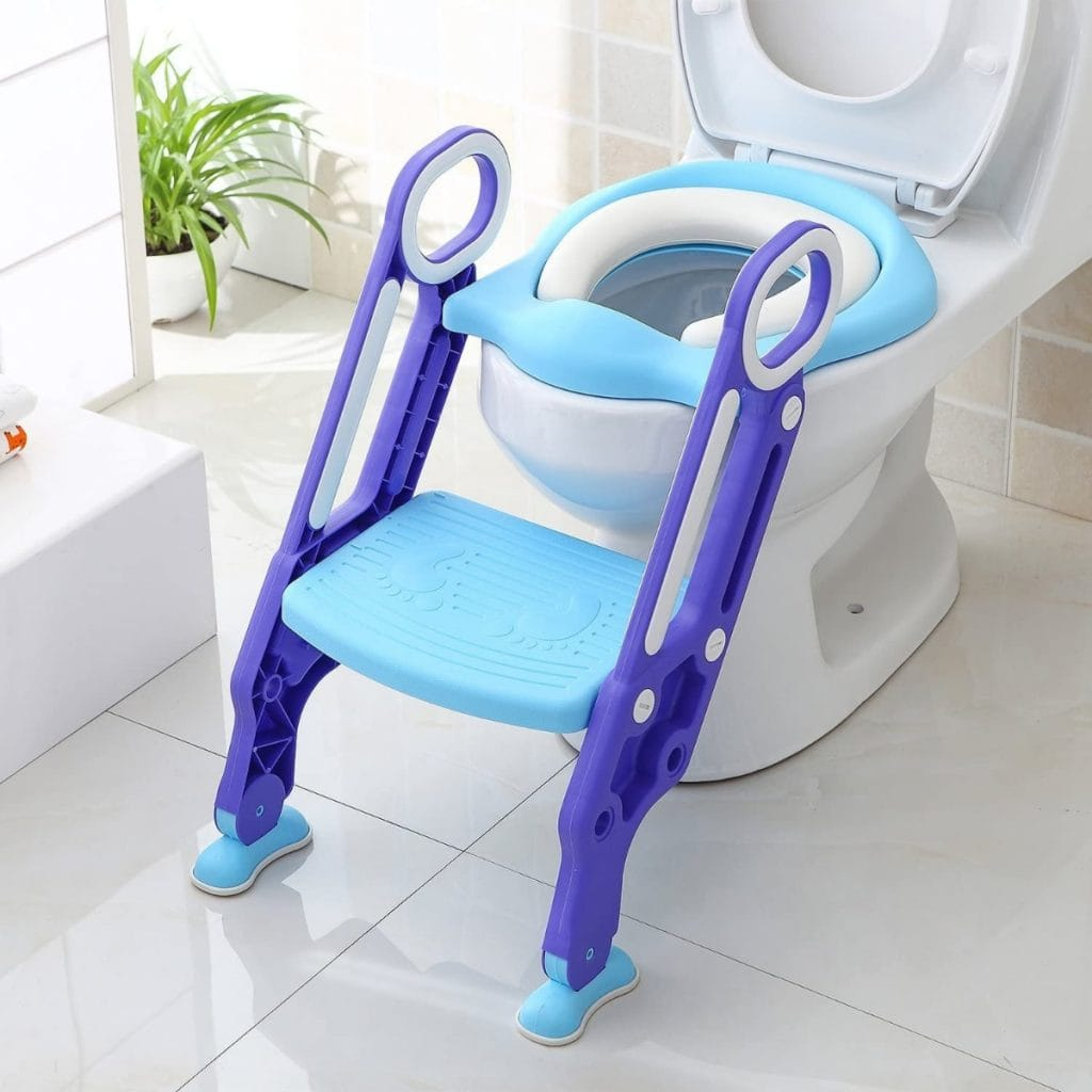Bamny - Adaptador WC para niños con escalera