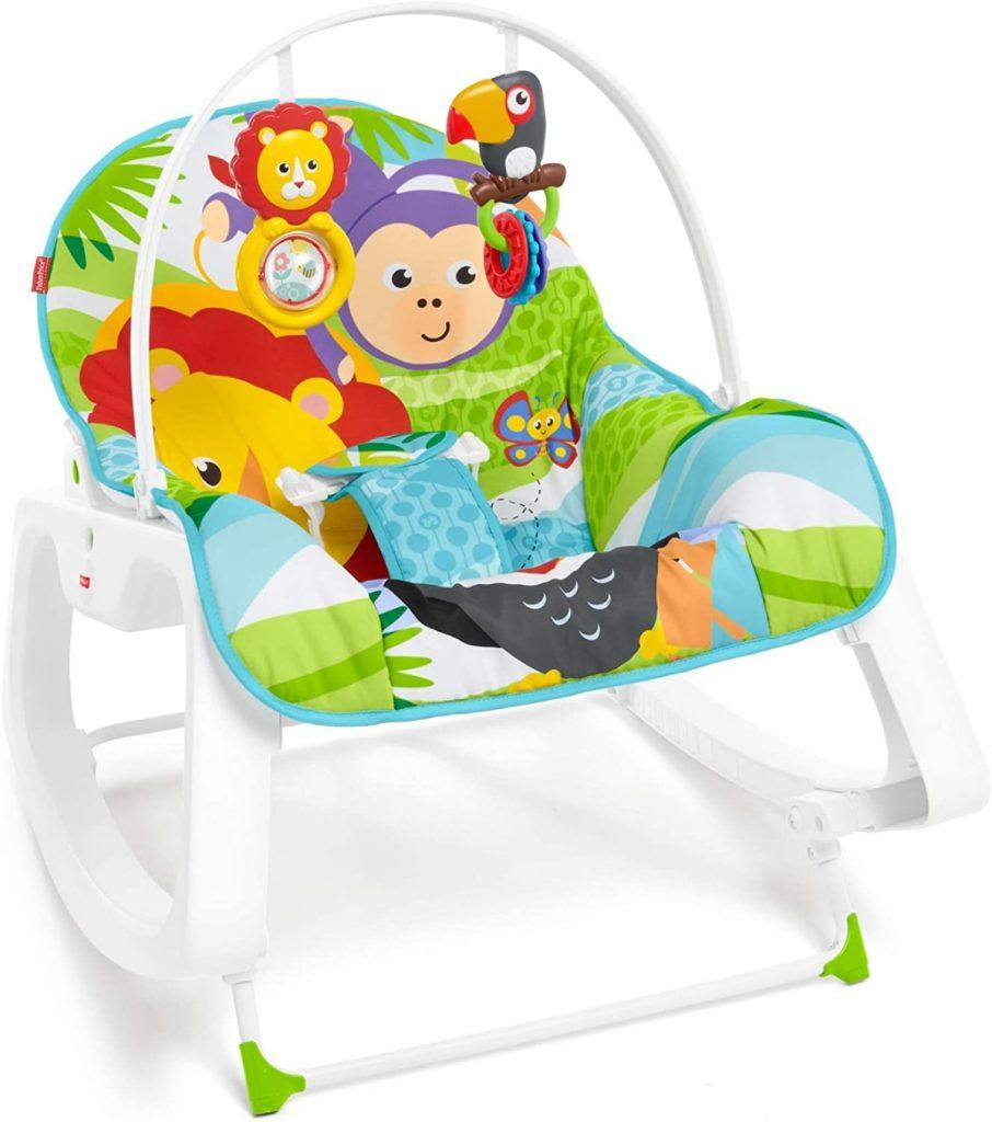 """Fisher-Price - Hamaca """"crece conmigo"""": la mejor opción con juguetes incluidos"""