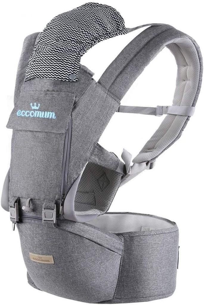 Mochila portabebés ergonómica de Eccomum