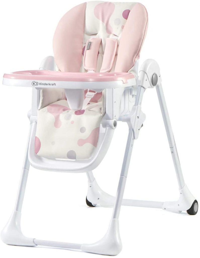 Kinderkraft - Trona de bebé ajustable Yummy