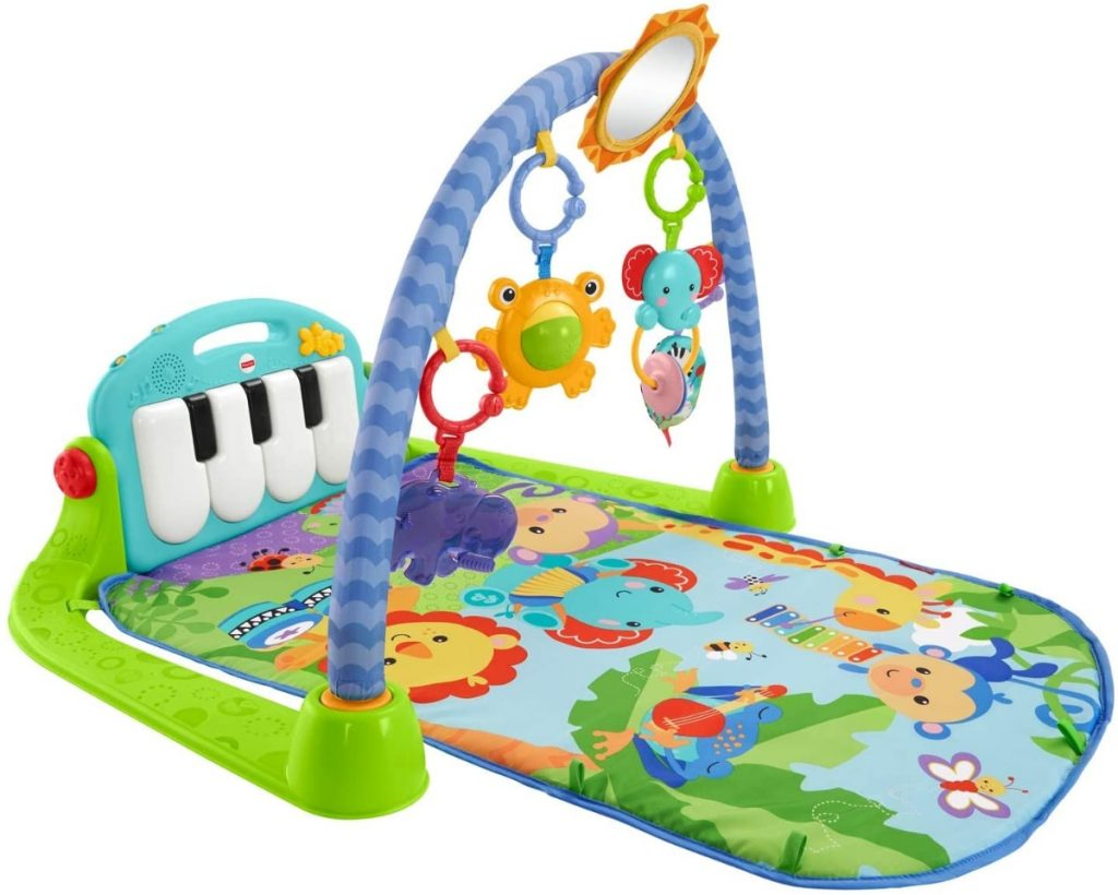 Fisher-Price Rainforest Piano-Gym - Manta de juego para bebé
