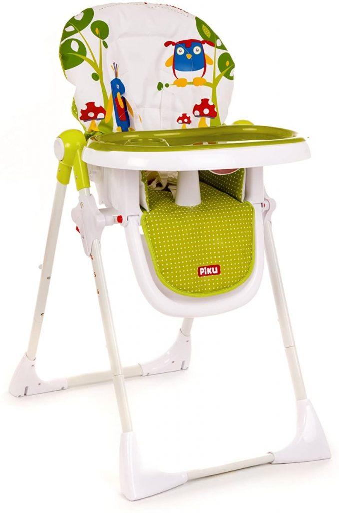Piku Twit-Twoo - Trona para bebés con bandeja regulable: realmente barata