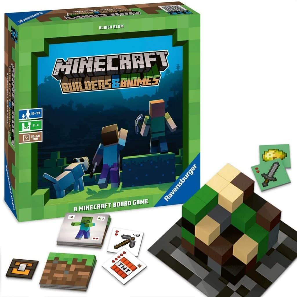 Minecraft: Builders & Biomes Juego de Mesa