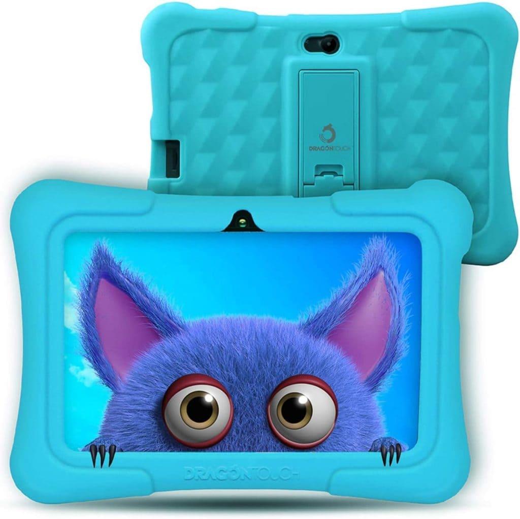 """Dragon Touch - Tablet de 7"""" para pequeños desde los 3 años de edad."""