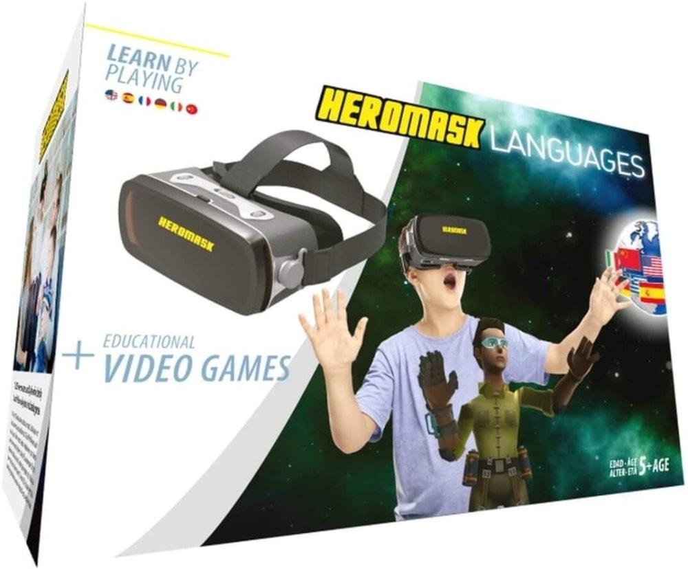 Gafas Realidad Virtual Niños + Juego Educativo Idiomas