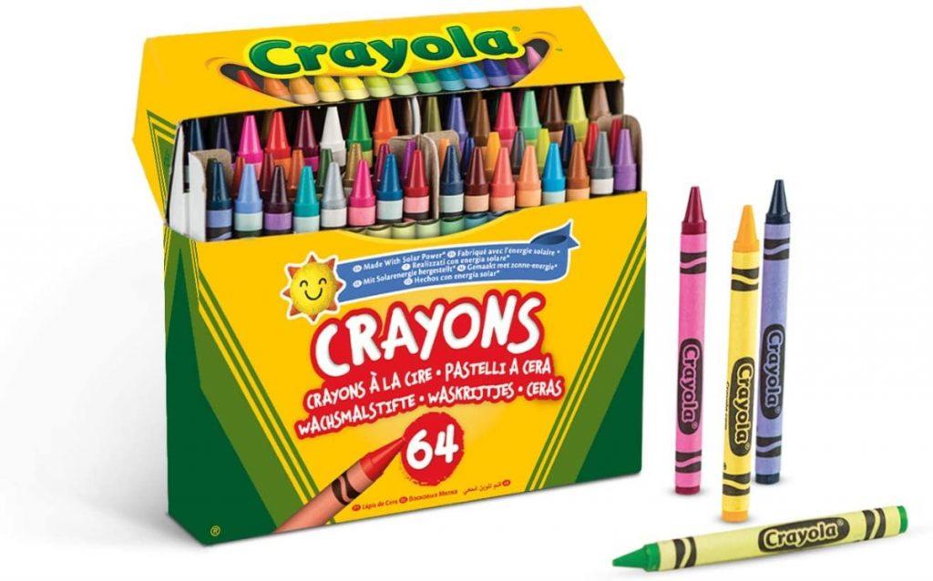 Crayola - 64 Ceras duras para colorear