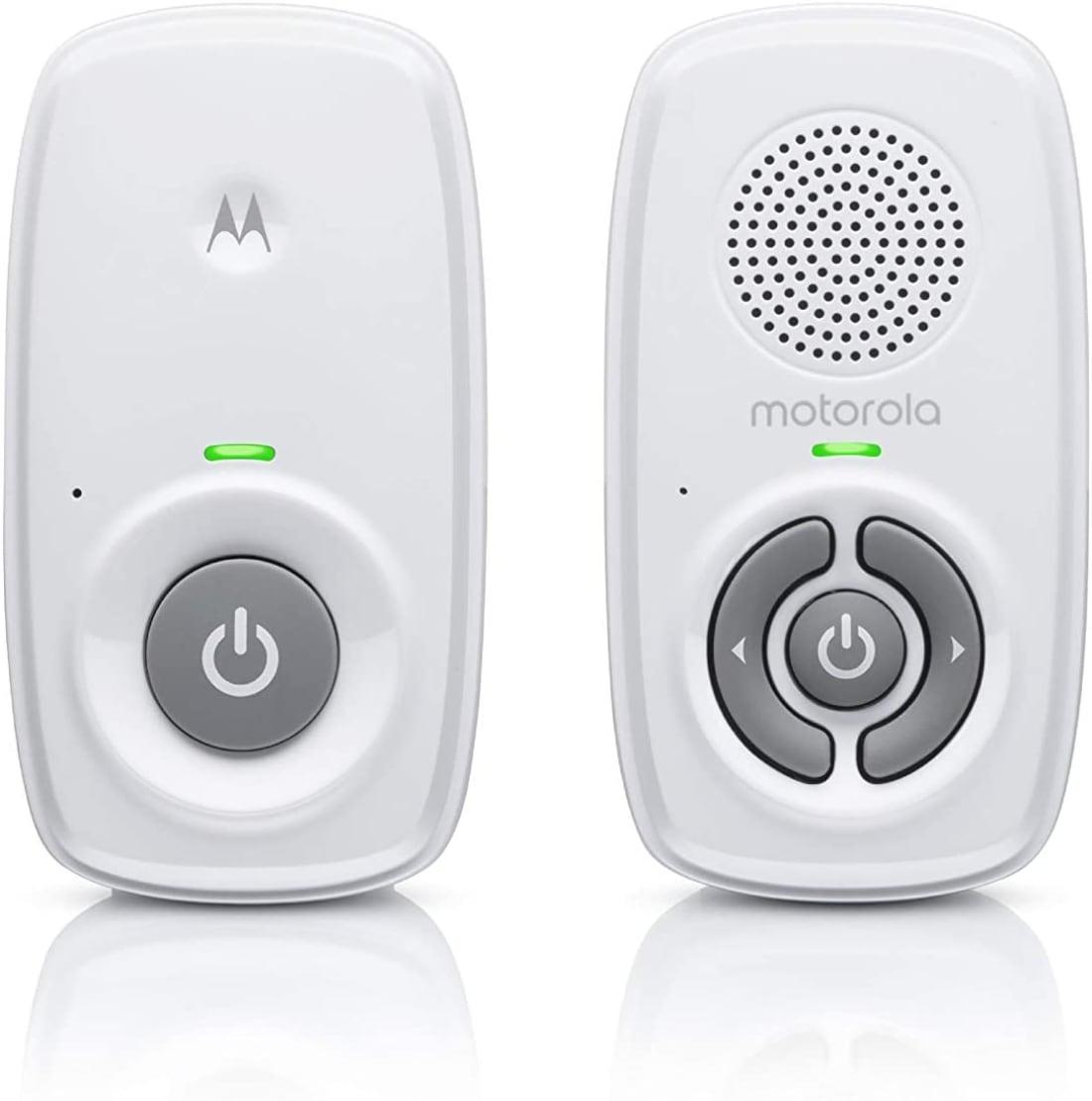 Motorola Baby MBP21 - Vigilabebés de audio DECT con 300 metros de alcance