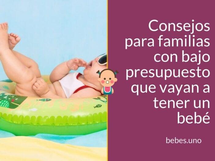 Cosas esenciales para un bebé recién nacido: Consejos para familias con bajo presupuesto que vayan a tener un bebé.